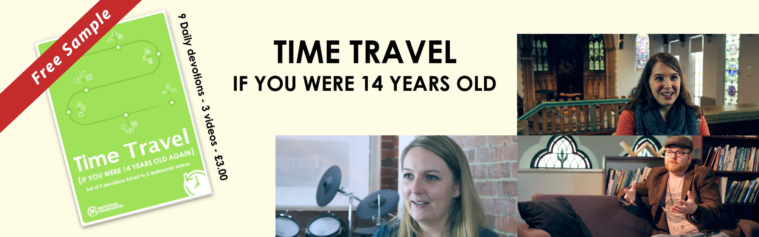 Time Travel: If you were 14 years old